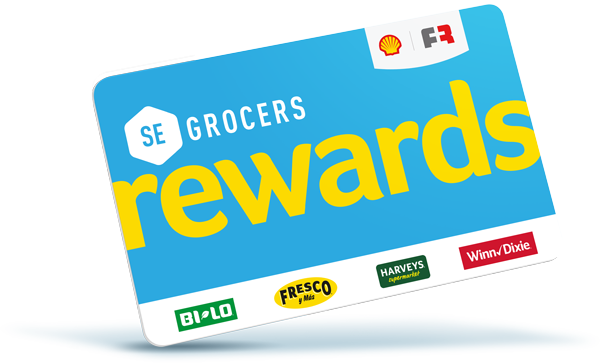 SE Grocers Rewards Card image